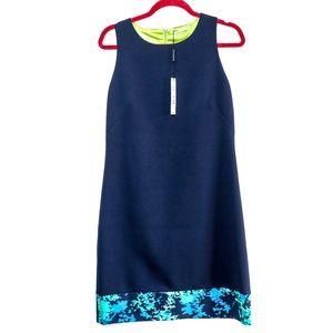 T Tahari | NEW Navy Fram Sheath Dress